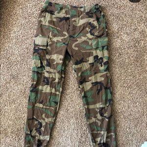 Denim - Army pants